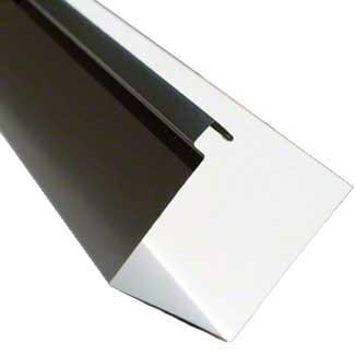 Gutter Galvanized Steel 24g 7 Quot Commercial Box Gutter Kynar