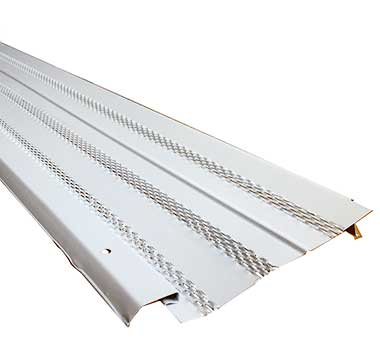 Gutter Guard Diamond Aluminum Gutter Shield Pro 5 Quot White