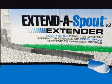 Extend A Spout Extender Accessory Low Profile Drainage