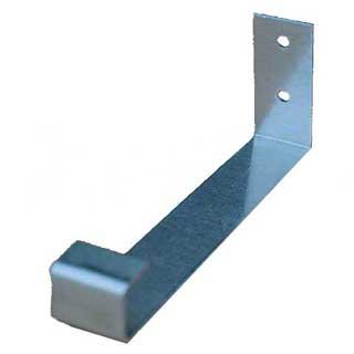 Seven Inch Aluminum Box Gutter Hidden Fascia Hanger Bracket