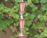 Rain Chain Copper Funnel 3.25 - 200x