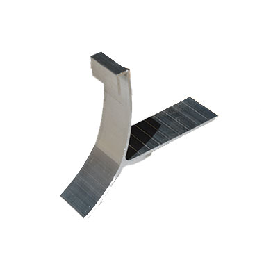 T Wedges For Half Round Aluminum Gutter