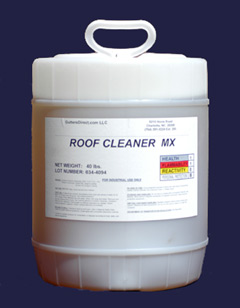 Roof Cleaner Mx Commercial 4 Gallons