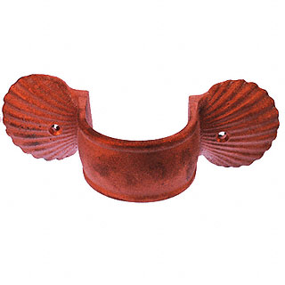 Pipe Strap Copper Shell 3 Quot Round