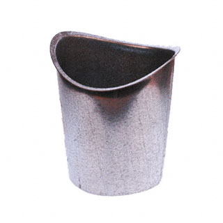 Outlet Galv Steel 4 Quot Half Round B Style
