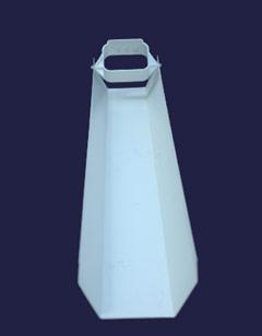 The Dripper Flipper Rain Drain Helps Keep Rain Water Away
