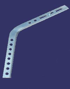 Half Round Gutter Hanger Shank 11 For Side Rafter Mount
