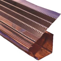Egutter 174 High Quality Gutter Guards In Copper Aluminum