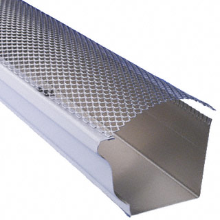 The Five Inch K Style Hinged Gutter Guard Installs Directly To Gutter Lip