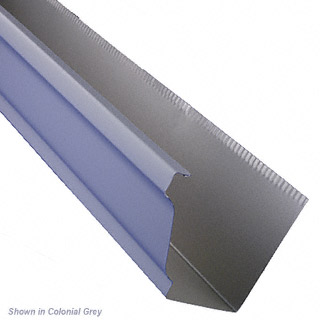 Six Inch K Style Gutter In 032 Aluminum With Baked On