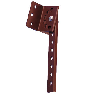 Shank Alum 30 Adjustable Pitch Rafters Amp Fascia Royal Brown
