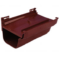 Slip Joint PVC K Snap Expansion Joint Brown 200x
