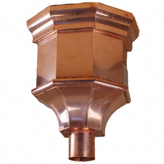 The Charleston Copper Conductor Head Series