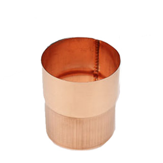 Downspout Copper 18oz European 3 Quot Round Connector