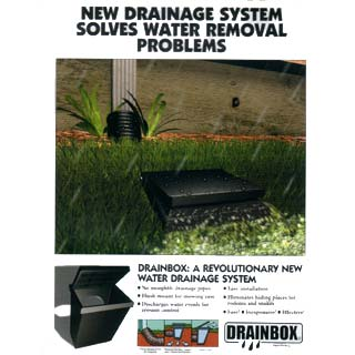 The All New Drain Box For Preventing Foundation Errosion