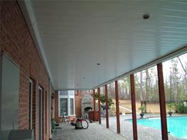 The Drysnap Underdecking Rain Carrying System Maximizes