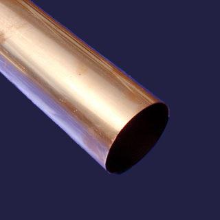 Downspout Copper 20 44oz 4 Quot Plain Round Seamless European