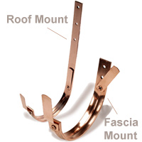 Hanger Copper Roof Fascia Mount