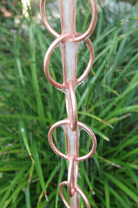 Rain Chain Copper Zen Loop 200x
