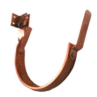 Heavy Duty Hanger Copper 6 Quot Half Round Adjustable Fascia