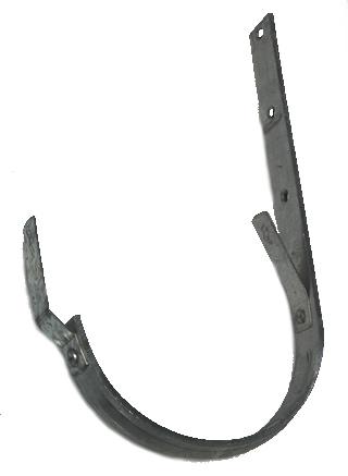 Heavy Gauge Galvanized Steel Half Round Hanger Brackets