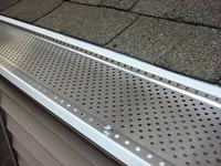 Lock On Gutter Guard 5 Quot X 48 Quot Is A Contractor Favorite Made