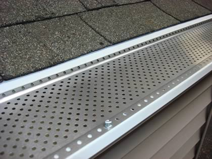 The Shur Flow Aluminum Gutter Protection System Is