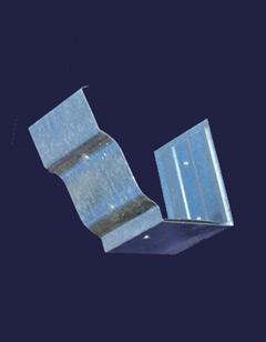 Five Inch K Style Galvanized Steel Gutter Slip Joint Connecter