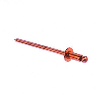 44d Copper Pop Rivets 1000 Per Tub
